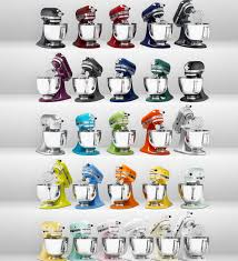 kitchenaid mixer color chart. new stand mixer colors introduced this year include teal, truffle, lavender and bordeaux. kitchenaid color chart h