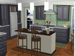 Interior Decorator Software Architecture Kitchen Design Pendant Lamp White  Area Bar Stool Wo0oden Floor Home House