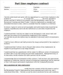 Consulting Agreement Sample In Word Delectable Employee Contract Template 48 Free Word PDF Documents Download