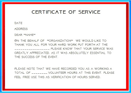 Community Service Hours Certificate Template Community Service Hours