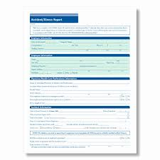Accident Reporting Form Template Fresh Osha Incident Report Template