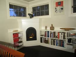 decorations interior elegant corner fireplace decorating idea