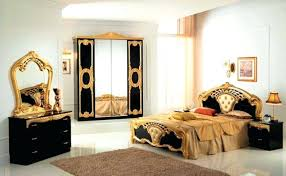 Italian bedroom furniture Royal Black And Gold Bedroom Furniture Gold Bedrooms Black With Bedroom Set Throughout And Within Furniture Sets Designs Black And Gold Italian Bedroom Furniture Thesynergistsorg Black And Gold Bedroom Furniture Gold Bedrooms Black With Bedroom