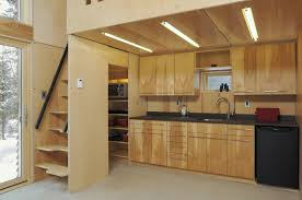 multifunctional furniture. While There Are Two Sleeping Lofts\u2014one Above The Kitchen, Other Multifunctional Furniture T