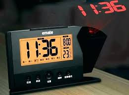 ceiling projection clocks atomic projection alarm clock atomic projection alarm clock projector alarm clocks atomic projection
