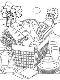 Small Picture basket coloring pages