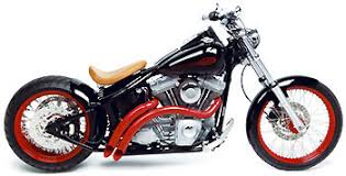 from stock harley to harley bobber at cyril huze post custom