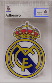 real madrid pegatina escudo oficial