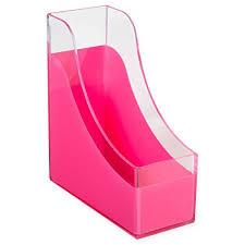 Pink Magazine Holder