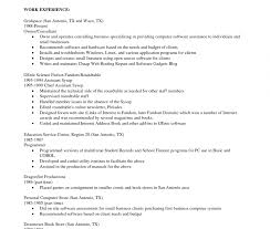 Office Com Resume Templates. Image Gallery Of Sample Dance Resume ...