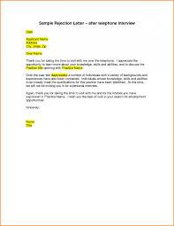Clever Email Sample After Job Rejection Sample Rejection Letter