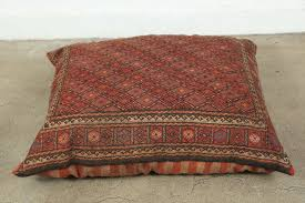 floor cushions. Hand-Woven Middle Eastern Turkish Tribal Kilim Floor Pillow For Sale Cushions