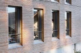 Holzfassade Fenster Sichtschutzzäune Aus Wpc Und Polyrattan Holz
