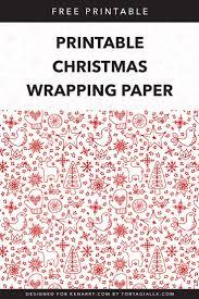 Free Printable Christmas Paper Designs Printable Christmas Wrapping Paper Free Download Ideas