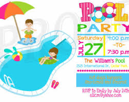 free printable blank pool party invitations. Wonderful Party Pool Party Invitation Template With A Combination Of Style  33 In Free Printable Blank Invitations L