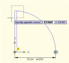 specify door corners