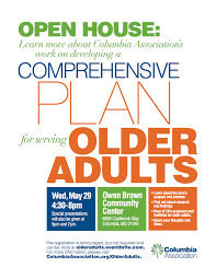 reminder open house next week for comprehensive plan serving the reminder open house next week for comprehensive plan serving the older adult community