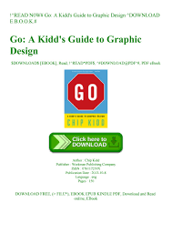 Go A Kidd S Guide To Graphic Design Read N0w Go A Kidds Guide To Graphic Design Download