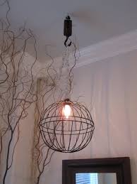 fancy anythingology metal hanging planter light 2 also wire chandelier diy
