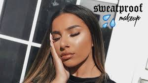 glowy sweat proof summer makeup tutorial for oily skin