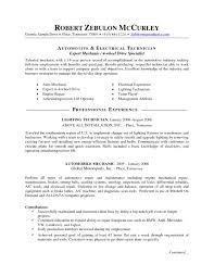 automotive technician resume samples template auto automotive gallery of sample resume automotive technician