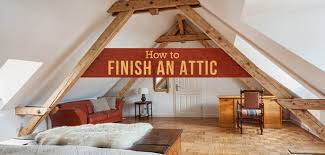 Attic Bedroom Design Ideas Beauteous How To Finish An Attic And Convert It Into A Room Budget Dumpster