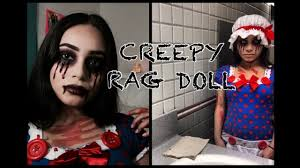 creepy rag doll halloween tutorial