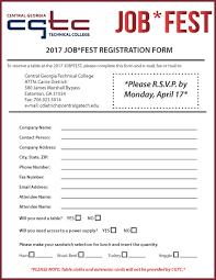 Registration Sample Resume For Job Fair General Cover Letter