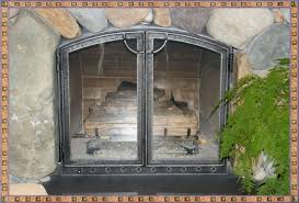 iron fireplace screens. Wrought Iron Fireplace Screens Ideas