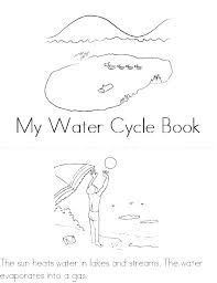 Coloring Pages Water Cycle Coloring Page Water Cycle Coloring