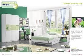 9029 Modern home furniture children bedroom furniture set wooden bed