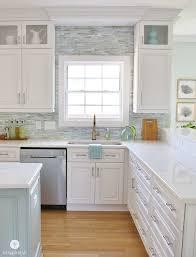 kitchen cabinets white simple home coastal kitchens