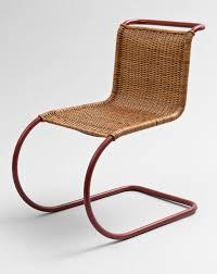 lilly reich furniture. ludwig mies van der rohe with lilly reich side chair mr ca 1931 manufactured by bamberg metallwerksttten berlin neuklln courtesy neue galerie photo furniture m