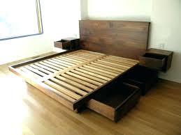 cheap king platform bed. Cheap Bed Frame Full Platform High Beds How To Make . King