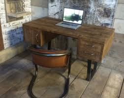 vintage style office furniture. john lewis calia style vintage industrial reclaimed desk made in the uk office furniture
