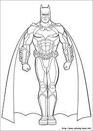 Batman Coloring Pages On
