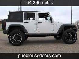 2008 jeep wrangler unlimited 4x4 4 door v6 unlimited x used cars pueblo colorado