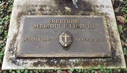 Grantham Benjamin Folsom III (1979-2000) - Find A Grave Memorial