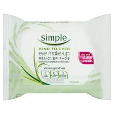 simple eye make up remover pads 30s a little bit bazar