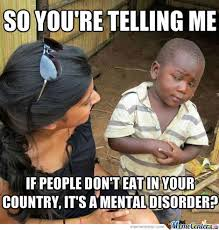 Post your fave Anorexia memes here *TW* - Anorexia Discussions ... via Relatably.com