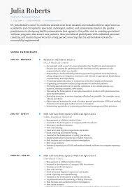 Medical Doctor Resume Samples Templates Visualcv