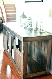 diy crate furniture double dog crate furniture images large table art inspired custom dog crate