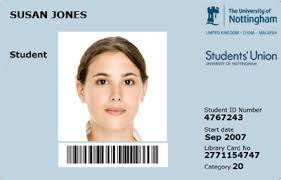 University - Card The Nottingham Of