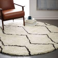 souk wool rug round west elm australia