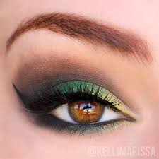 bold green eyes 9 fun colorful eyeshadow tutorials for makeup