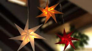 Weihnachtsstern Aus Papier Für Ihre Weihanchtsdeko