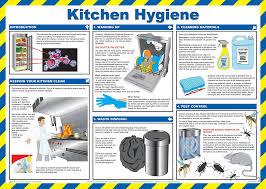 Food Hygiene Poster Kitchen Hygiene Poster