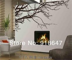 sia wall sticker new x large 200x80cm vinyl wall decal art black white tree branches home