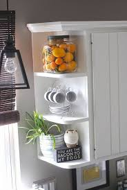 Shanty Sisters on Instagram: Simple corner shelves! We bought 4  inexpensive metal brackets