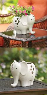 The cutest lanterns we ever did see! And versatile, tooadd some soil